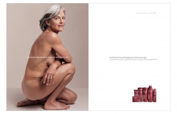 pro-age, реклама Dove