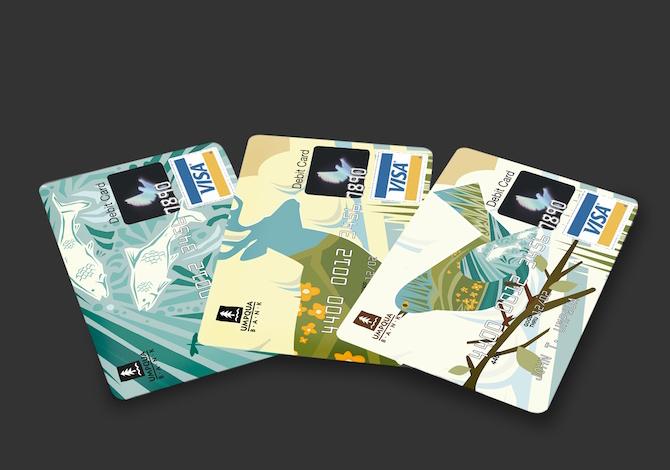 """кредитные карты """"Umpqua Bank"""""""