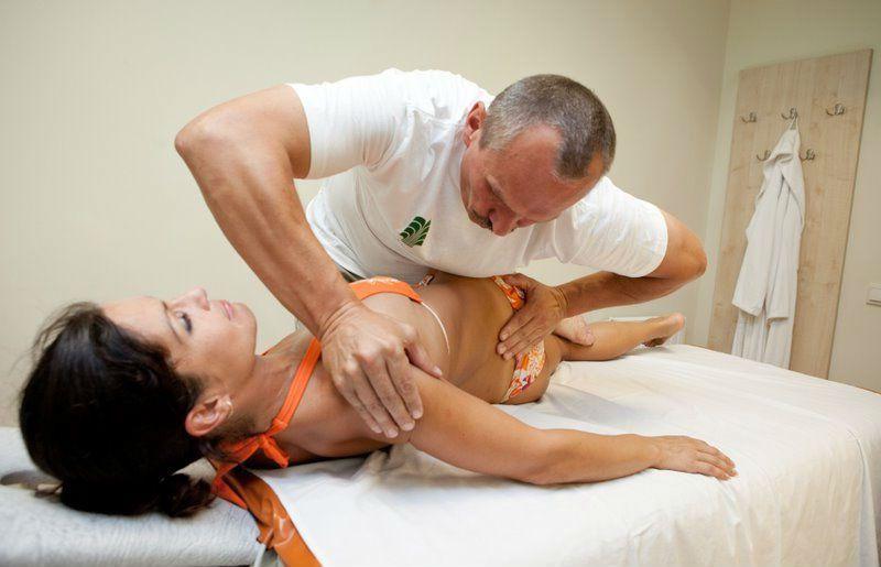 Мануальный массаж шейного отдела