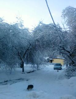 Город во льду