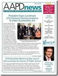 AAPD Newsletter