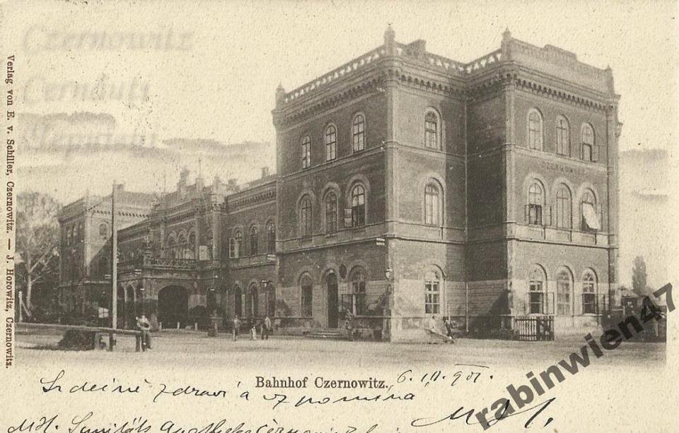 BahnhofStrasse 140 1901