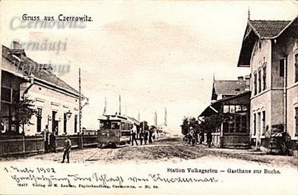 Station Volksgarten 120 1902