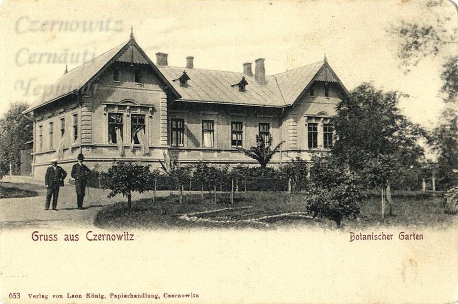 GartenGasse 140 1898