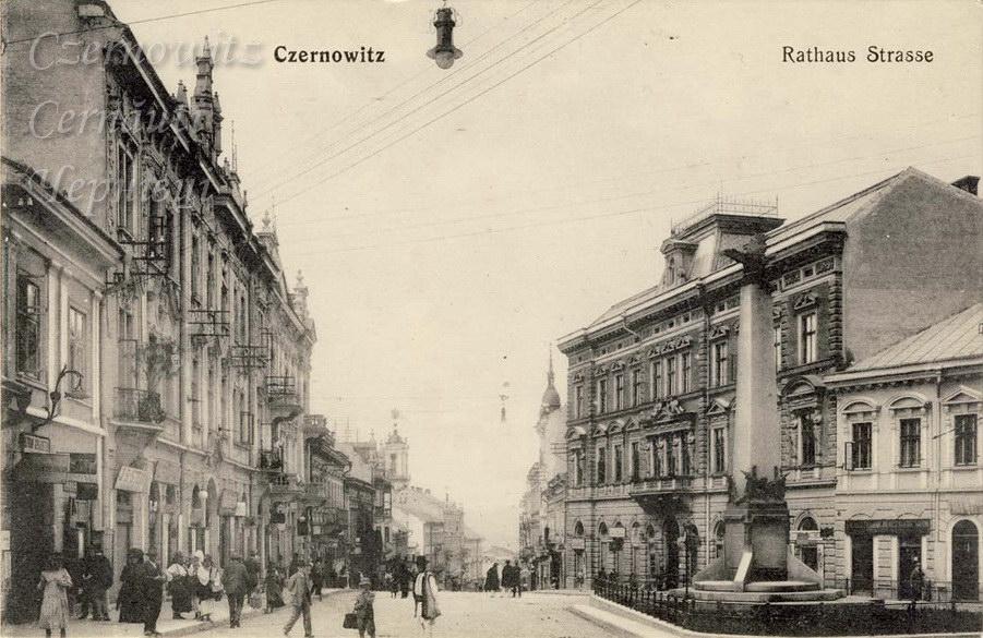 RathausStrasse 860 1907