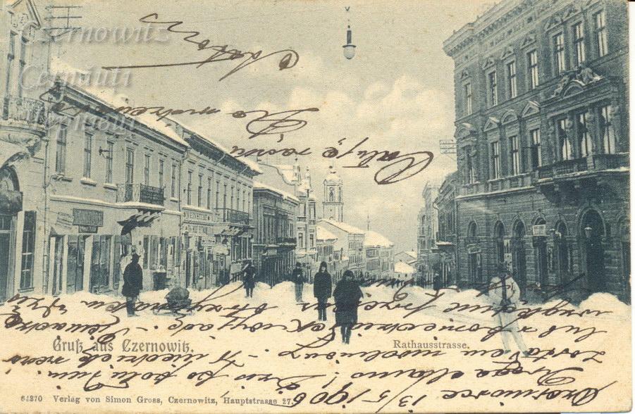 RathausStrasse 800 1905
