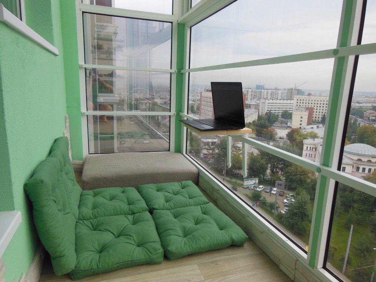 Всегда мечтала о таком балконе или как превратить балкон в у.