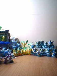 Right Side of Eeveelution Collection