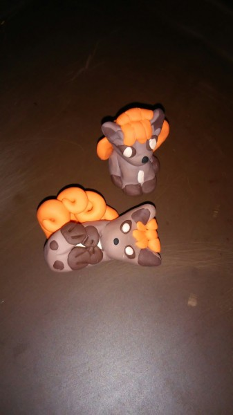 Faith's Vulpix Scultps