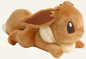 Laying Eevee Plush