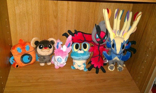 Pokedoll collection 1