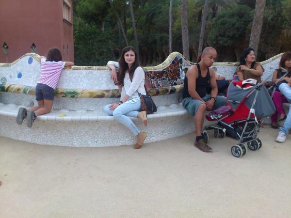 В парке Гуэль