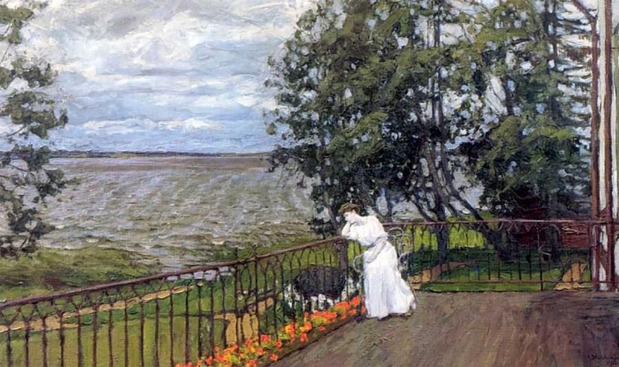 019_Жуковский Печальные думы. 1907