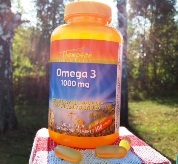 Thompson, Омега 3, 1000 мг