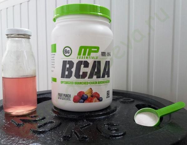 MusclePharm, BCAA Essentials, Fruit Punch, 1.14 lbs (516 g)