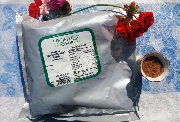 Frontier Natural Products, Цератония, кэроб, порошок средней обжарки, 453 г
