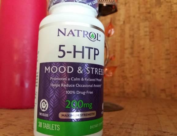 Natrol, 5-HTP, медленное высвобождение, максимальная сила, 200 мг, 30
