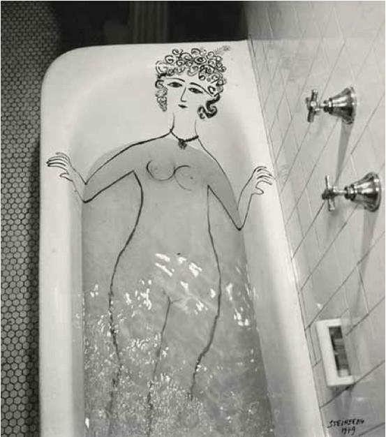 saul_steinberg_bath