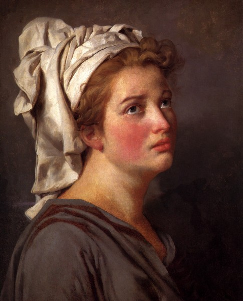 Jacques_-_Louis_David_Portrait_Of_A_Young_Woman_In_A_Turban