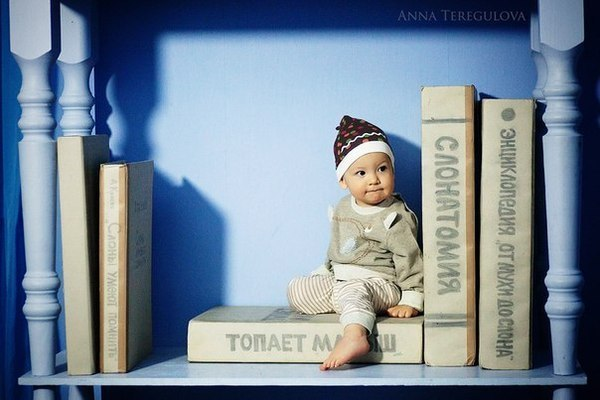 дети и книжки