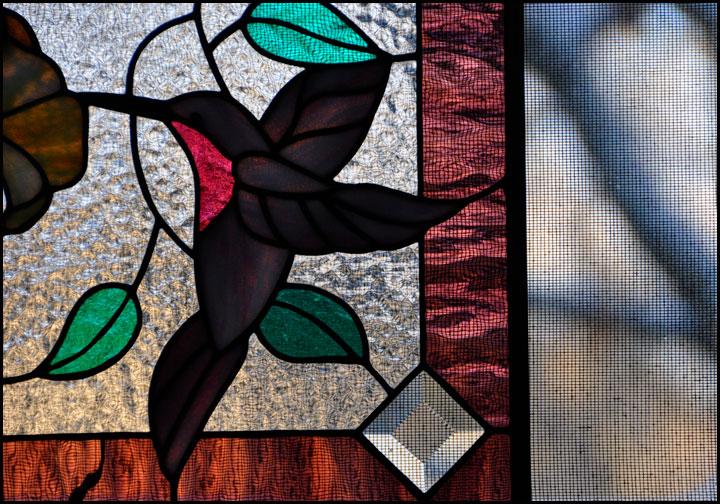 hummingbird-window-glass