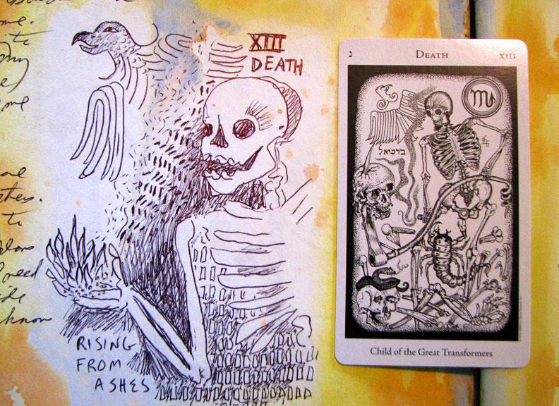 4-8-16-Death-XIII-Hermetic-tarot-art-a-day