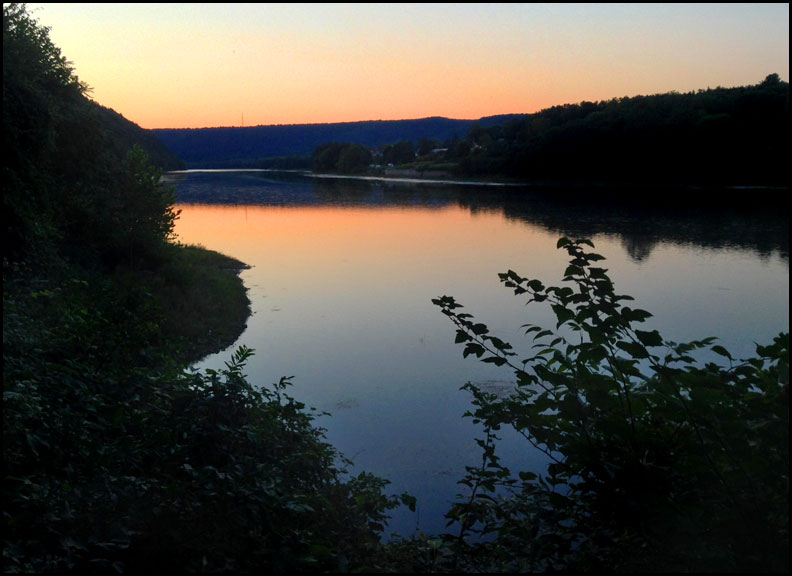 Allegheny-river-at-Oil-City-evening-falls-9-4-16
