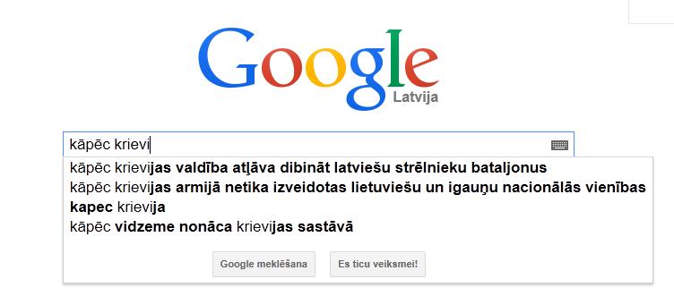 krievi google