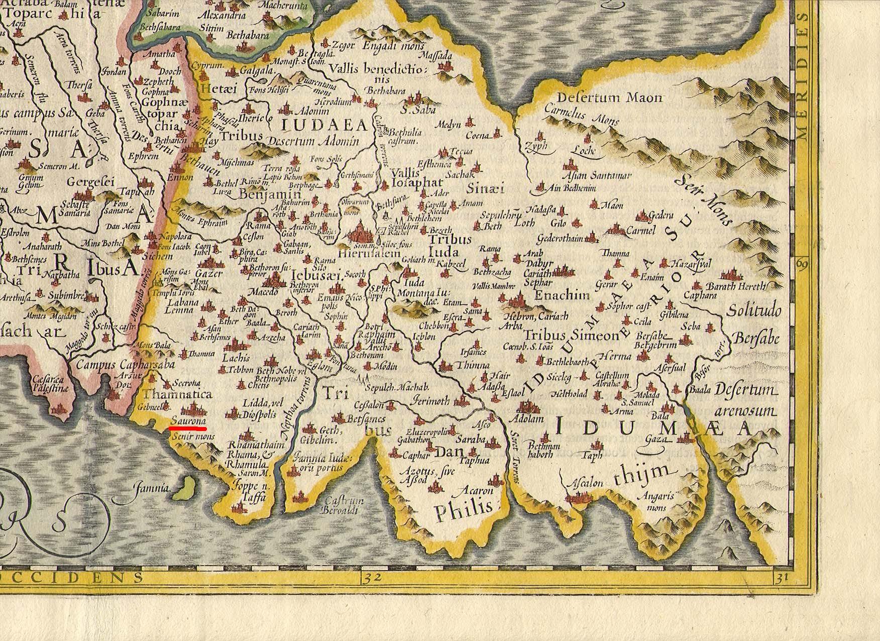 Hondius Holy Land 6