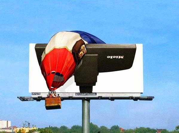 Шарик и билборд