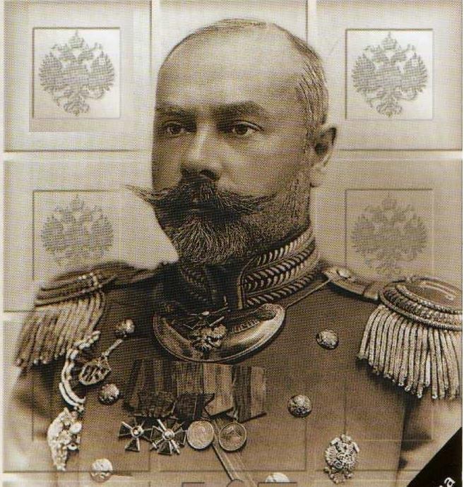 Антон Иванович Деникин (4.12.1872–7.8.1947) – генерал-лейтенант, основатель Добровольческой белой армии