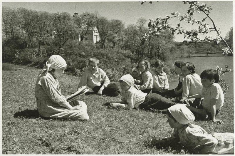21.06.1941 читают Маяковского