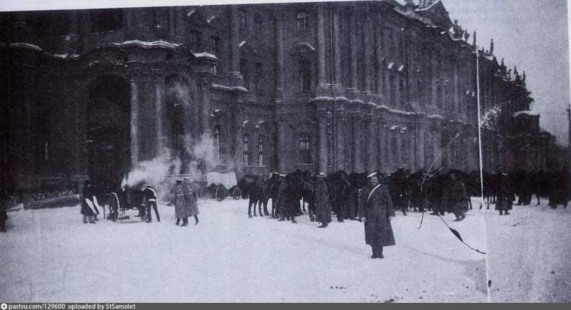 9 января 1905 у Зимнего дворца