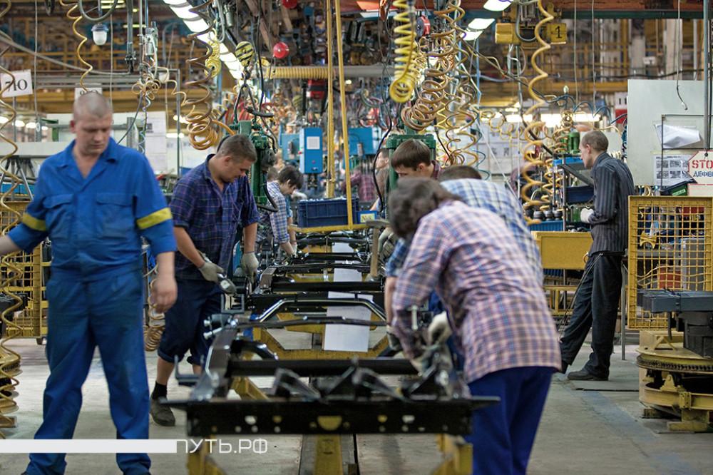 Где выпускают самые трудолюбивые автомобили?. ГАЗель, Россия, производство