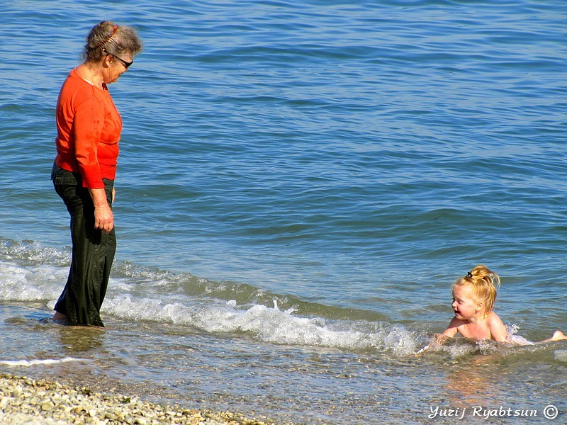 Бабушка! Айда купаться!!!!