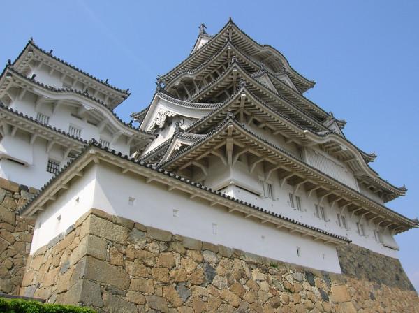 Himeji castle close view