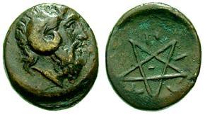 coin pentagramm