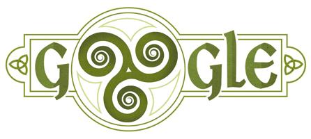 St Patrick doodle 2019