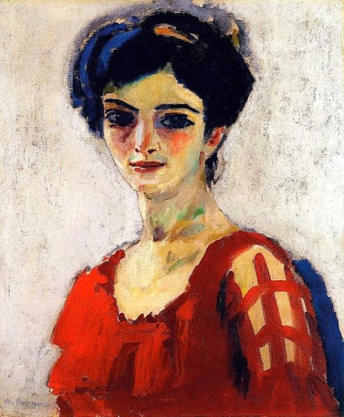 Kees von Dongen 1910 - Maria Метрополитэн, Нью-Йорк