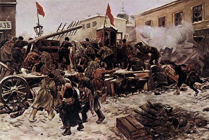 баррикады-1905