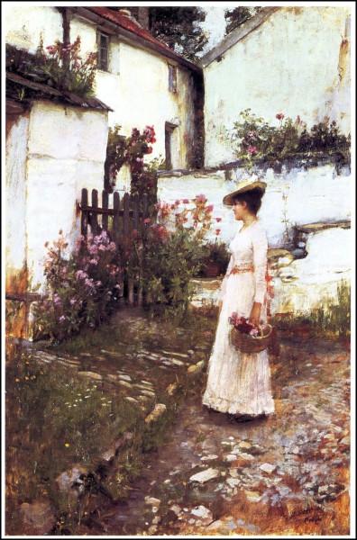 1892_waterhouse_gatheringflowers