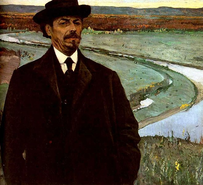нест_Nesterov_self-portrait
