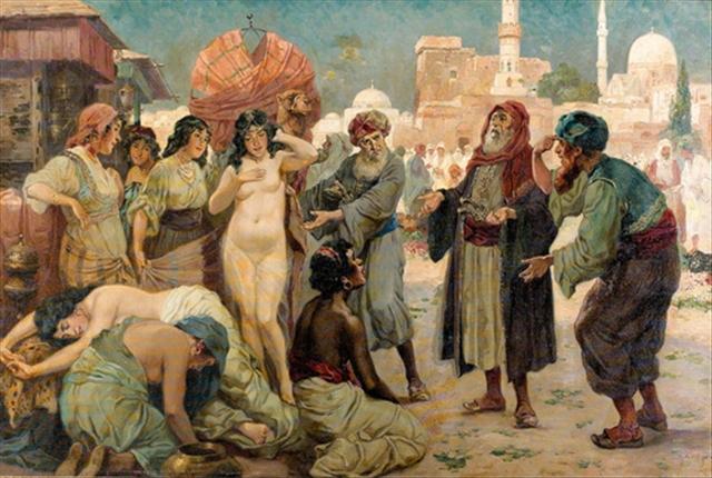 хогDer Sklavinnenmarkt