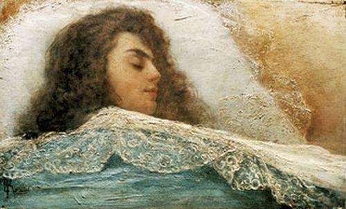Софья Крамская. Спящая