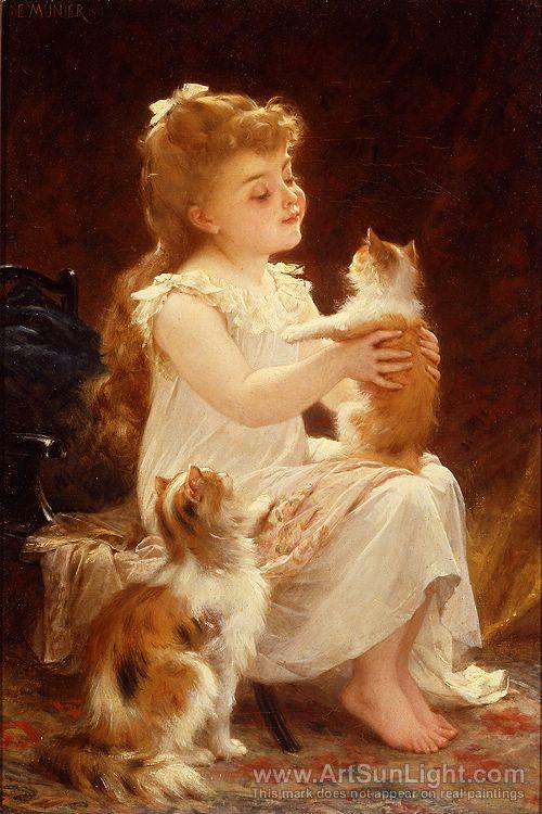 кот.эм.мун-playing-with-the-kitten