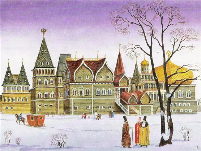 Коломенское деревянный дворец