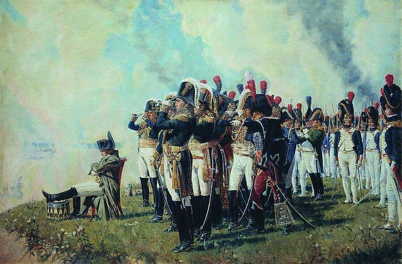 Vereshagin_Napoleon_near_Borodino