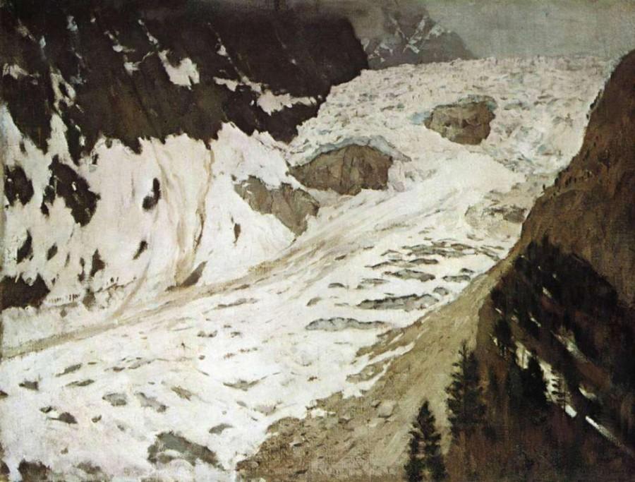 левит_2.альпы.снега