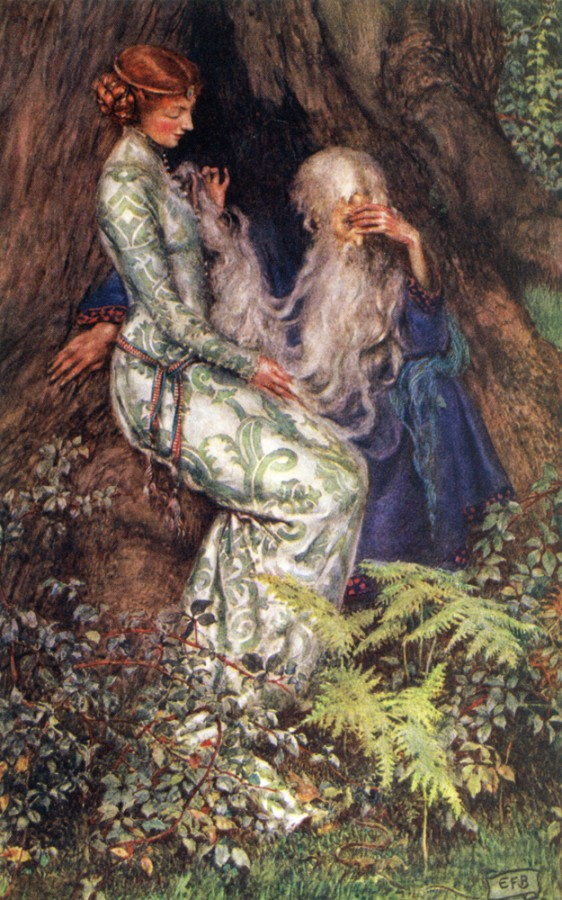 Brickdale_Eleanor_Fortescue_Merlin_and_vivien