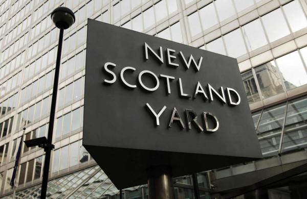 London. Scotland Yard